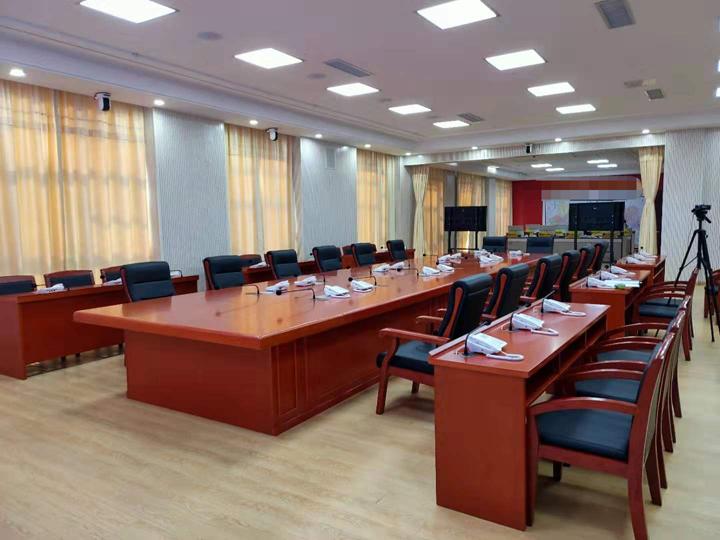 合肥滨湖新区武警支队会议室定制