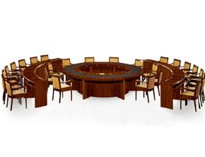 油漆会议桌015